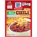 McCormick 30% Less Sodium Mild Chili Seasoning Mix
