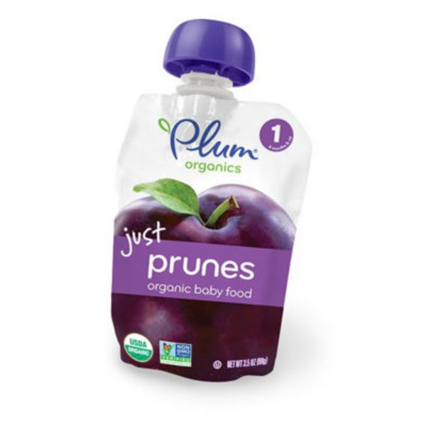 Plum Organics Just Prunes Baby Food
