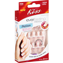 Kiss Everlasting French Pink Petite Length Nail Kit