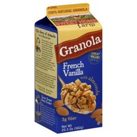 Sweet Home Farm Granola, French Vanilla with Almonds, Carton