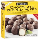 Tulip Street Bakery Chocolate Dipped Puffs