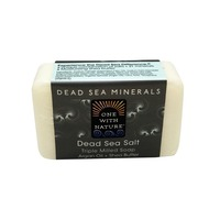 One With Nature Soap, Triple Milled, Dead Sea Salt
