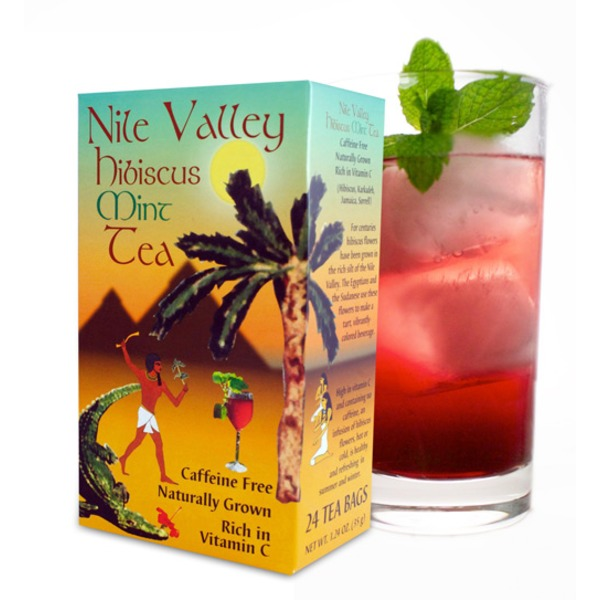 Nile Valley Hibiscus Mint Teabags
