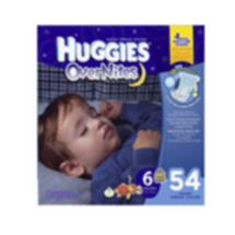 Huggies Super Pack OverNites Diapers Size 6