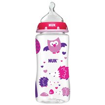 NUK 10-Ounce Woodlands Orthodontic Bottle