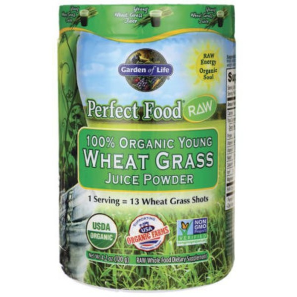 Garden of Life Oraganic Wheat Grass Juice Powder