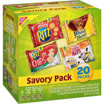 Nabisco Savory Pack Snacks