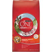 Purina ONE SmartBlend Healthy Weight Formula Adult Premium Dog Food