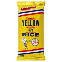 Mahatma Long Grain with Saffron Yellow Seasonings Rice