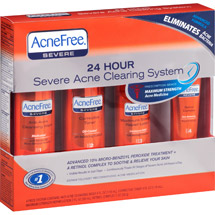 AcneFree 24 Hour Severe Acne Clearing System