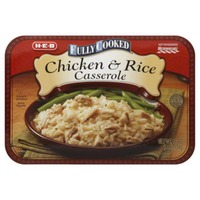 H-E-B Fully Cooked Chicken And Rice Casserole