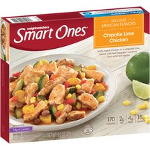 Weight Watchers Smart Ones Smart Creations Chipotle Lime Chicken