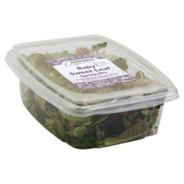 Central Market Organics Baby Sweet Leaf Spring Mix