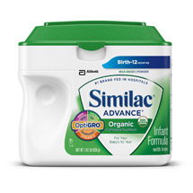 Similac Organic Infant Formula 23.2 oz