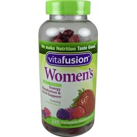 VitaFusion Women's Complete Multivitamin Natural Berry Flavors Gummies Dietary Supplement