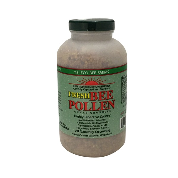 Y.S. Eco Bee Farms Fresh Bee Pollen Whole Granules
