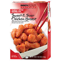 Innovasian Cuisine Sweet & Sour Chicken Family Style Entree Kit