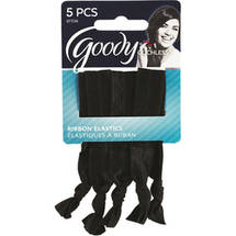 Goody Ouchless Ribbon Elastics Black