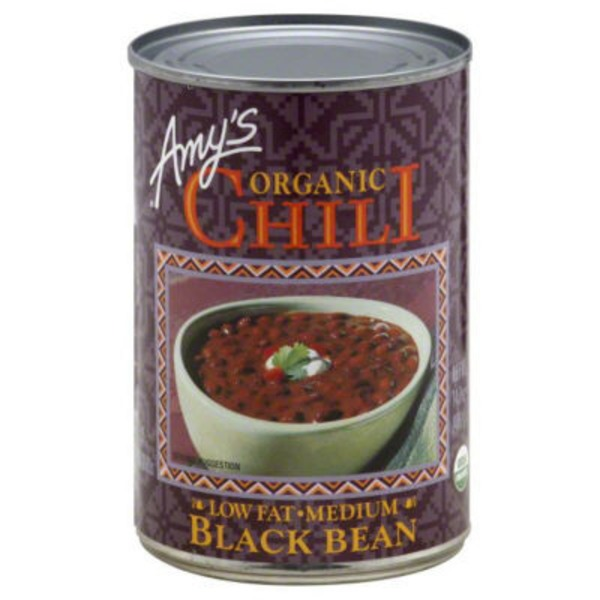 Amy's Organic Low-Fat Medium Black Bean Chili