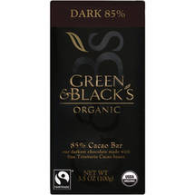 Green & Blacks Dark 85% Cocoa Content Organic Chocolate