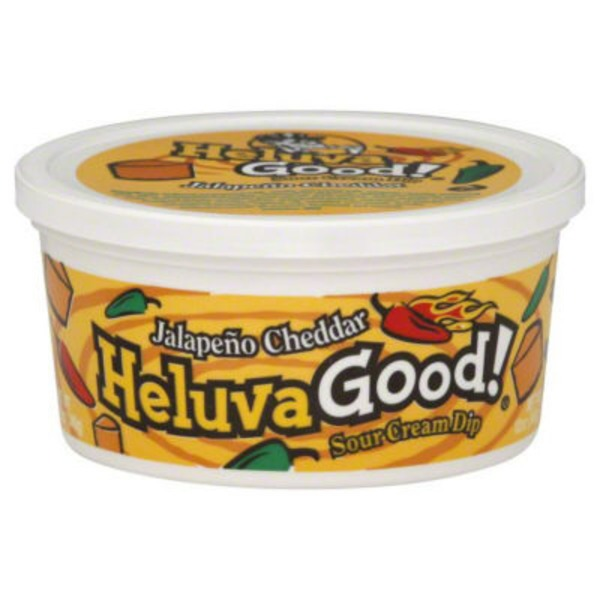 Heluva Good! Jalapeno Cheddar Sour Cream Dip