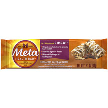 Meta Health Bar Cinnamon Oatmeal Raisin Heath Bar