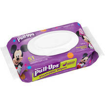 Pull-Ups Big Kid Flushable Wipes