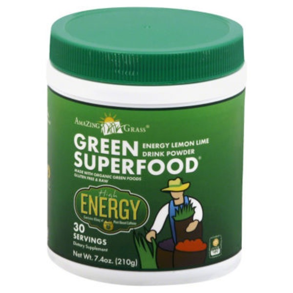 Amazing Grass Green SuperFood Energy Lemon-Lime