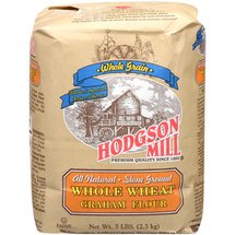 Hodgson Mill All Natural Stone Ground Whole Wheat Graham Flour