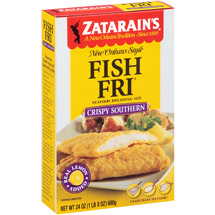 Zatarain's Crispy Southern Style Seasoned Fish-Fri Mix