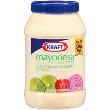 Kraft Mayo Real Mayonnaise with Lime Juice