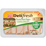 Oscar Mayer Deli Fresh Cracked Black Pepper Turkey Breast Lunch Meat