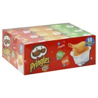 Pringles Snack Stacks! Original/Sour Cream & Onion/Cheddar Cheese Variety Pack Potato Crisps