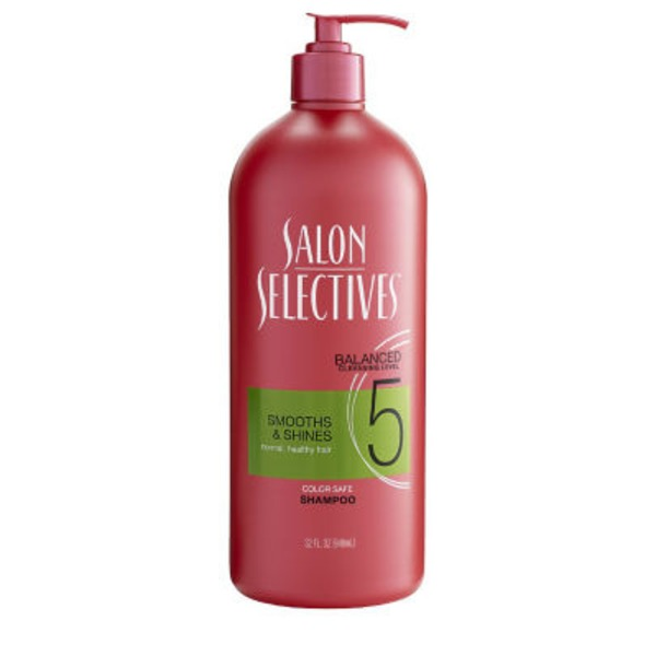 Salon Selectives Smooths & Shines Color Safe Shampoo