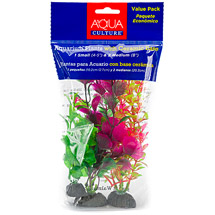 Aqua Culture Aquarium Plants with Ceramic Base