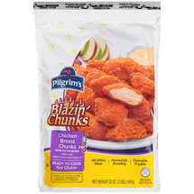 Pilgrim's Blazin' Chunks Spicy Chicken Breast Chunks