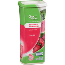 Great Value Strawberry Watermelon Drink Mix