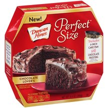 Duncan Hines Perfect Size Chocolate Lover's Chocolate Cake & Frosting Mix