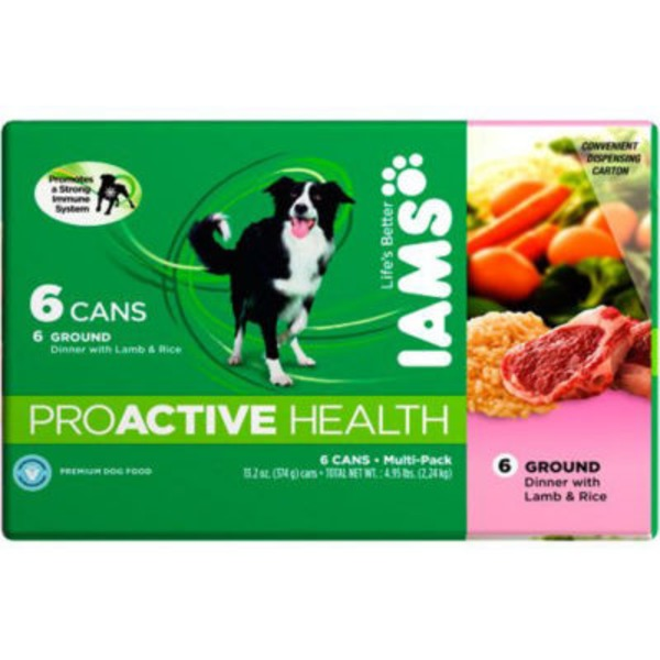 Iams Proactive Health Premium Dog Food Lamb And Rice Multi Pack