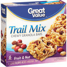 Great Value Fruit & Nut Trail Mix Granola Bar