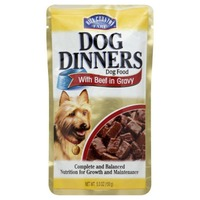 Hill Country Fare Dog Dinners Dog Food With Beef In Gravy