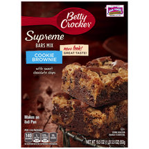 Betty Crocker Supreme Dessert Bar Mix