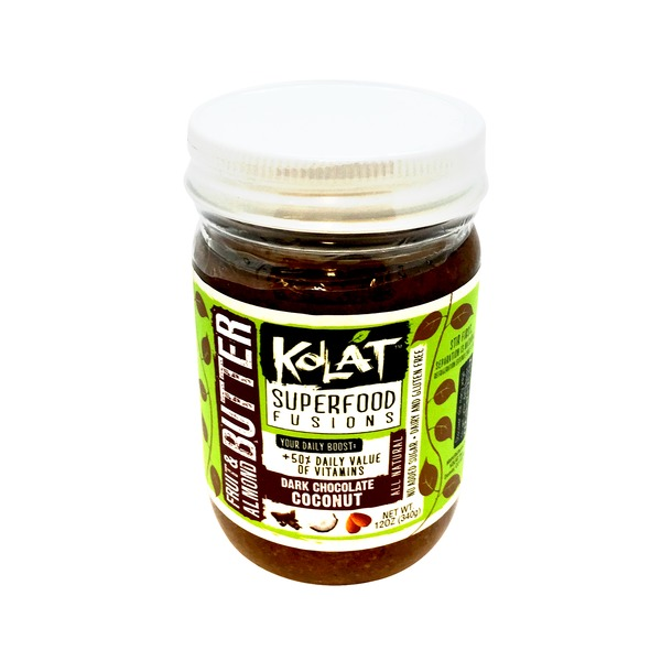 Kolat Dark Chocolate Coconut Fruit & Almond Butter
