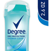 Degree Dry Protection Shower Clean Antiperspirant Deodorant