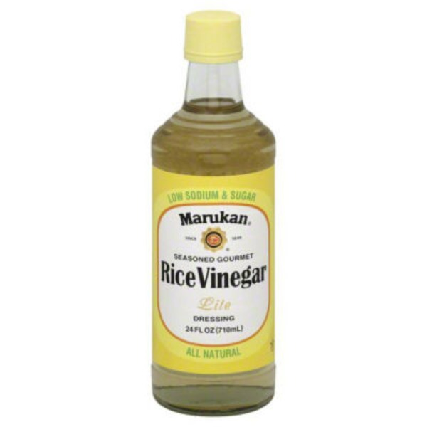 Marukan Seasoned Gourmet Rice Vinegar Lite Dressing