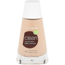 CoverGirl Clean Liquid Make Up Foundation WARM BEIGE 145