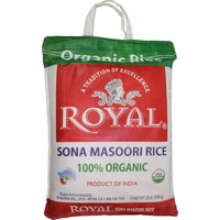 Royal Sona Masoori Rice 100% Organic