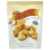 H-E-B Premium Cheese & Garlic Croutons