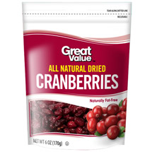 Great Value Dried Cranberries