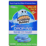 Scrubbing Bubbles Vanish Continuous Clean Drop-Ins Blue Disc Toilet Cleaner